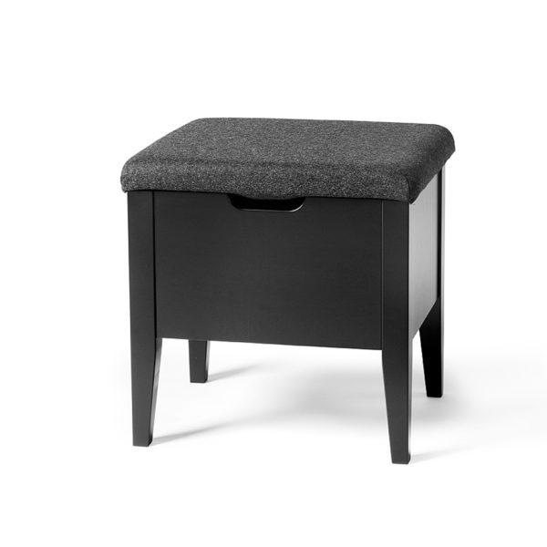 klinte-hallbaenk-450-svart-10-cm